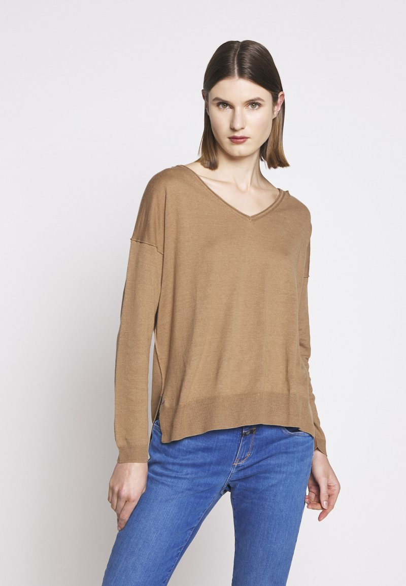 CLOSED - WOMEN´S - Jumper - golden oak