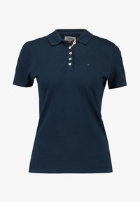 Tommy Jeans - ORIGINAL BASIC - Polo - dress blues - 5