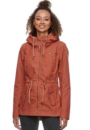 MONADIS - Outdoor jacket - cinnamon