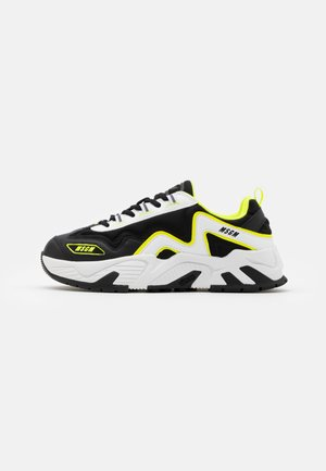 Sneakers laag - neon yellow
