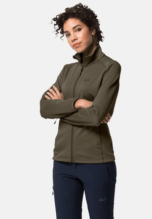 HORIZON - Fleece jacket - olive