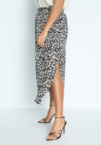 Violeta by Mango - POPART - A-line skirt - schwarz - 0