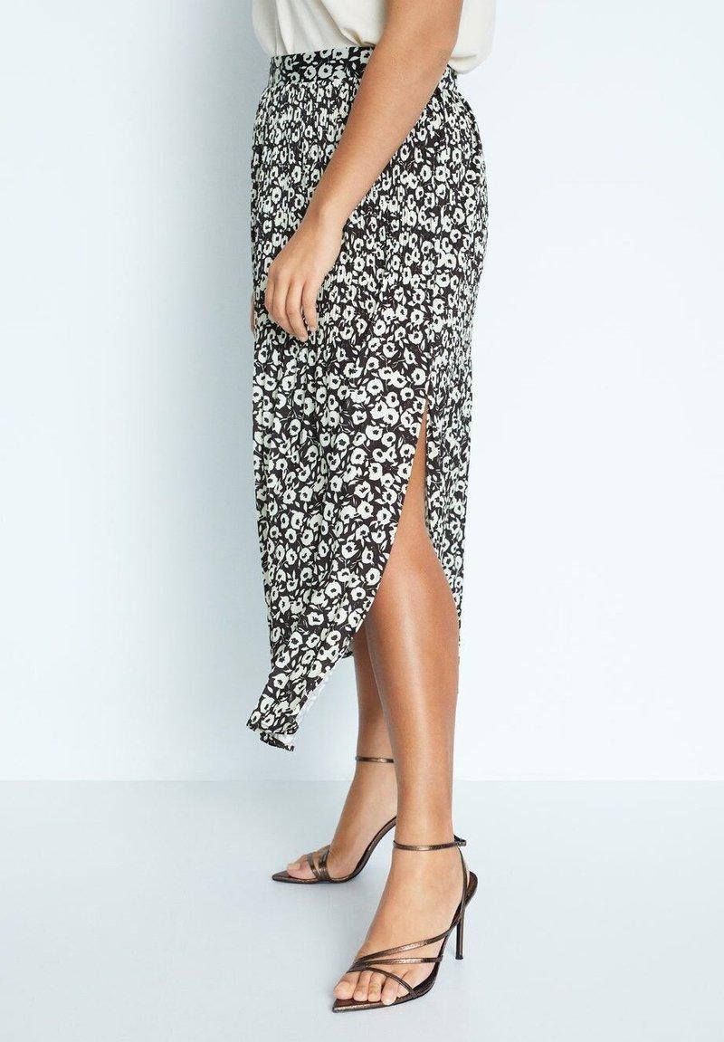 Violeta by Mango - POPART - A-line skirt - schwarz
