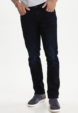 NOOS BLIZZARD  - Jeans Straight Leg - denim black blue