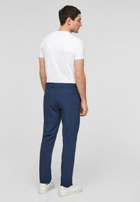 s.Oliver BLACK LABEL - MIT HYPERSTRETCH - Suit trousers - blue - 2