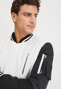 Be Edgy - BESASCHA - Leather jacket - white/black - 5