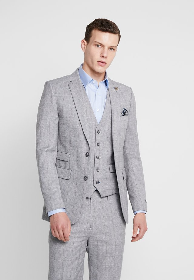 CONNELY  GRINDLE POW SKINNY FIT  - Marynarka -  grey