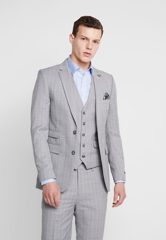 CONNELY  GRINDLE POW SKINNY FIT  - Blazer -  grey