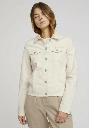 RIDERS  - Denim jacket - light beige