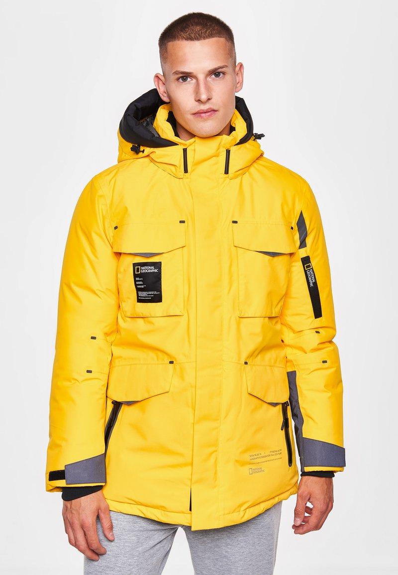 National Geographic - Down jacket - lemon chrome