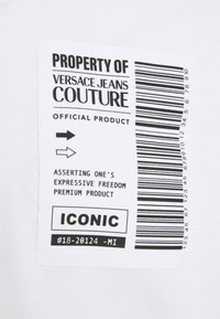 Versace Jeans Couture - Triko spotiskem - bianco ottico - 6