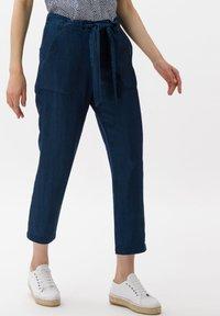 BRAX - Straight leg jeans - dark blue - 0