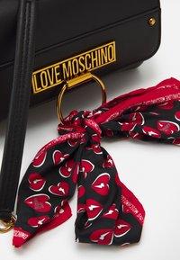 Love Moschino - Umhängetasche - black - 4