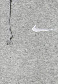 Nike Sportswear - HOODIE TREND - Felpa con cappuccio - dark grey heather/white - 2
