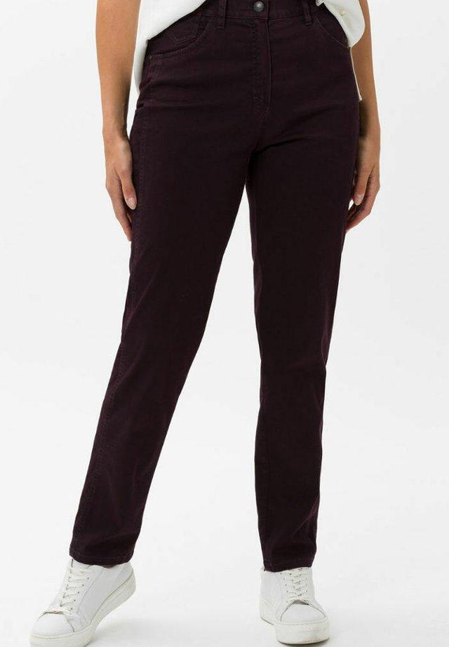 CORRY - Pantaloni - dark purple