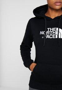 The North Face - WOMENS DREW PEAK HOODIE - Hoodie - black/white - 4