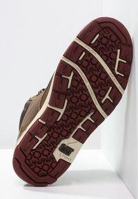 Cat Footwear - COLFAX - Botki sznurowane - dark beige - 4