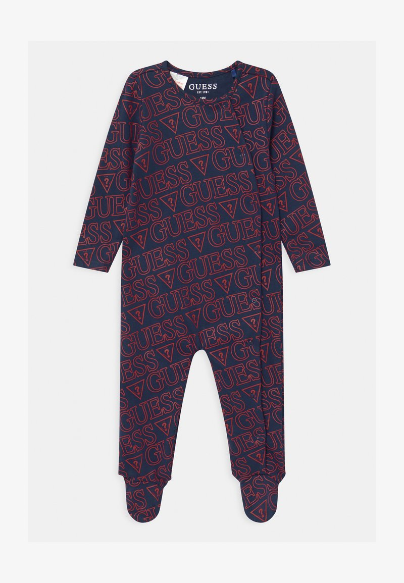 Guess - BABY UNISEX - Sleep suit - bleu/deck blue