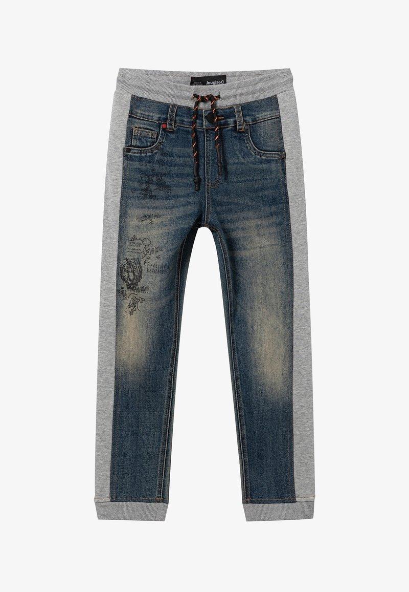 Desigual - Spodnie materiałowe - black