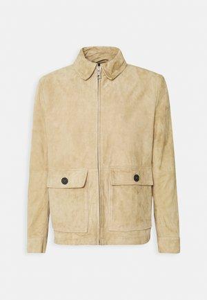 GIV - Leather jacket - beige