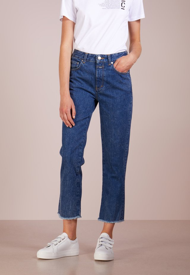 GLOW RELAXED FIT - Jeans a sigaretta - dark blue