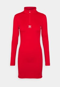 DRESS - Jerseykjoler - red