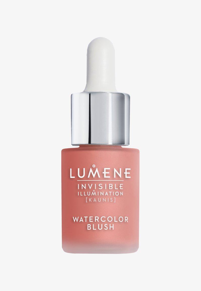 Lumene - WATERCOLOR BLUSH - Blusher - coral bloom