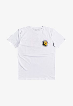 MELLOW PHONIC  - Print T-shirt - white