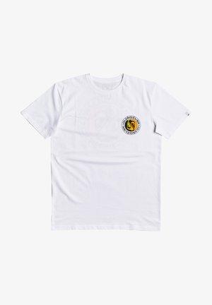 MELLOW PHONIC  - Print T-shirt - white