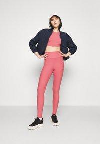 adidas Originals - TIGHTS - Leggings - Trousers - hazy rose/white - 1