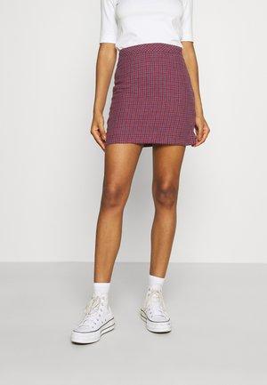 HIGHLAND - Mini skirt - red