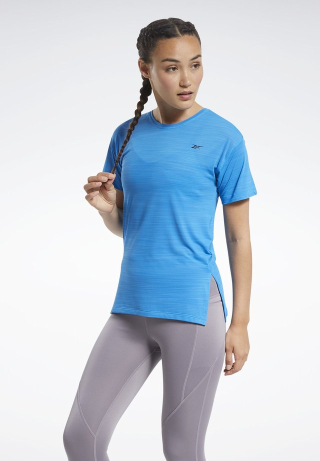 WORKOUT READY ACTIVCHILL T-SHIRT - Print T-shirt - blue