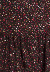 JDY - JDYGITTE SVAN CAPSLEEVE DRESS - Vestito estivo - black/pink - 6