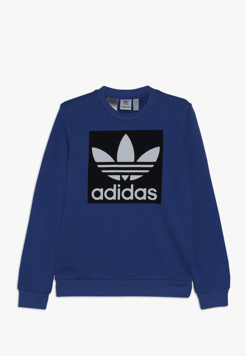 adidas Originals - TREFOIL CREW - Sweatshirt - blubir/conavy/white