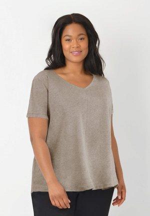 SWING - Basic T-shirt - stone