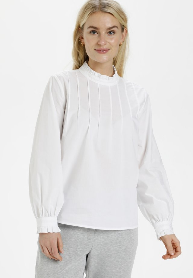 DHANNE  - Maglietta a manica lunga - optical white