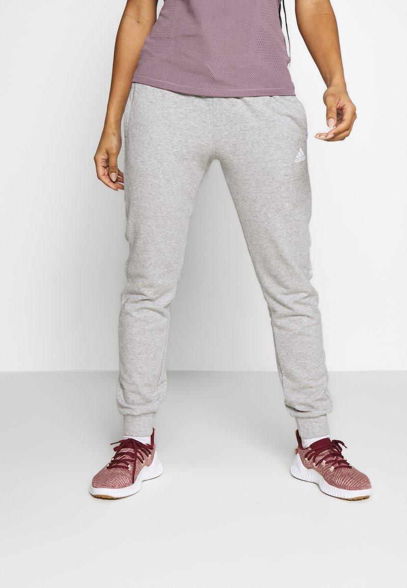 adidas Performance - BLOCK PANT - Trainingsbroek - grey
