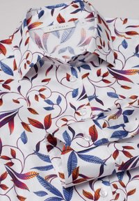Eterna - MODERN CLASSIC - Button-down blouse - blue/saffron/white - 3