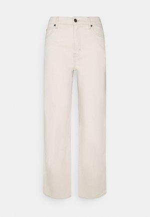 MIA STRAIGHT  - Straight leg jeans - ecru
