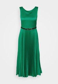 Closet - PLEATED DRESS - Day dress - forest green - 5
