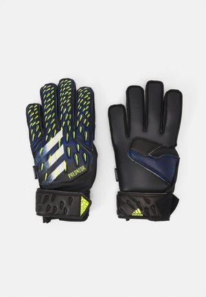 UNISEX - Goalkeeping gloves - black/royblu/syello/w