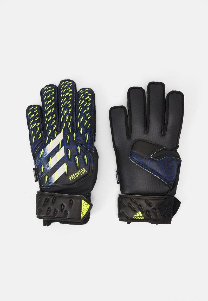 adidas Performance - UNISEX - Goalkeeping gloves - black/royblu/syello/w