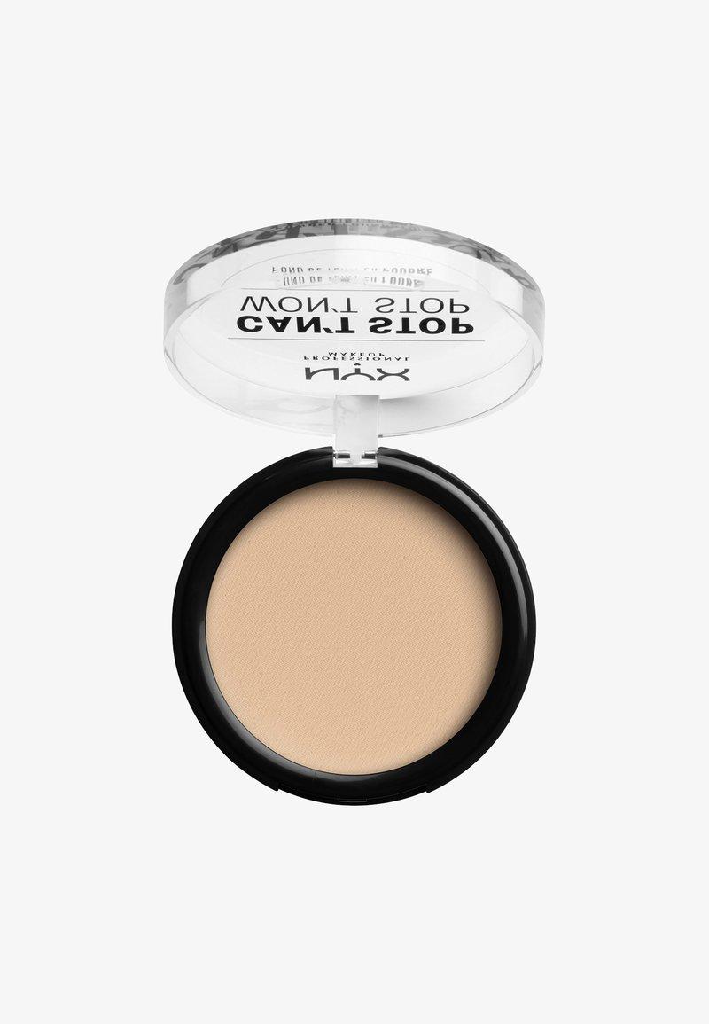 Nyx Professional Makeup - CAN'T STOP WON'T STOP POWDER FOUNDATION - Poeder - CSWSPF06 vanilla