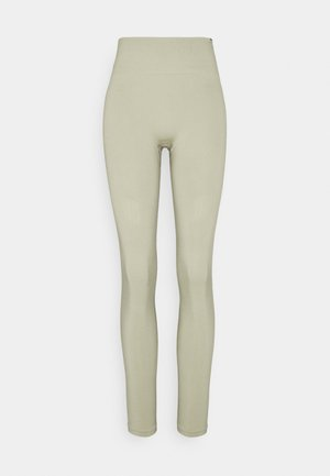 SEAMLESS LEGGINGS  - Trikoot - light green