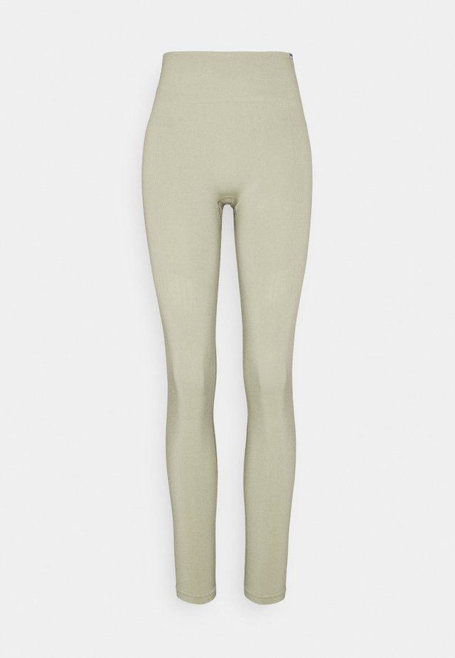 SEAMLESS LEGGINGS  - Collant - light green