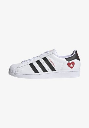 SUPERSTAR - Trainers - ftwr white/core black/scarlet