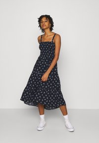 Hollister Co. - CHAIN DRESS - Kjole - navy - 1