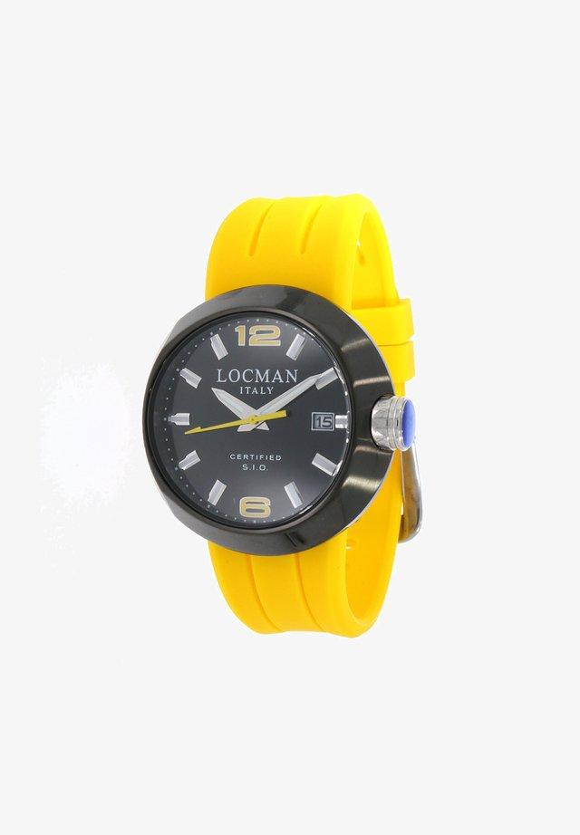 Horloge - gelb