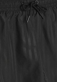 Weekday - TONAL STRIPE  - Shorts - black - 2