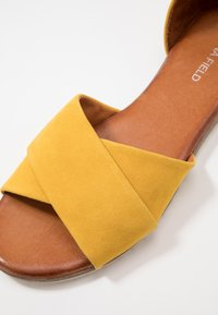 Anna Field - LEATHER - Sandals - yellow - 2